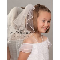 First Communion Veil with Pearls