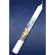 "10"" first communion taper candle"