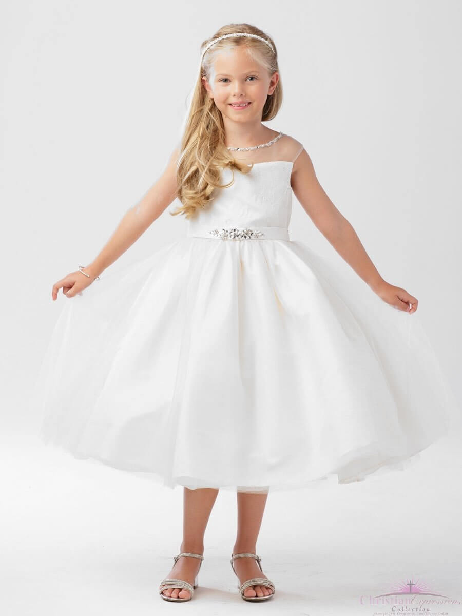 Lace Holy Communion Dress for Girls