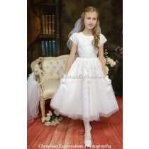First Communion Dress Style Claire