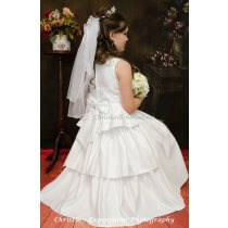 first communion dress style Gina