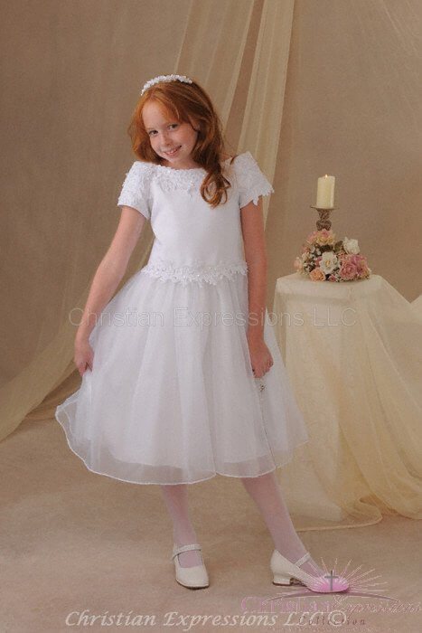 First Communion Dress Style Carrie