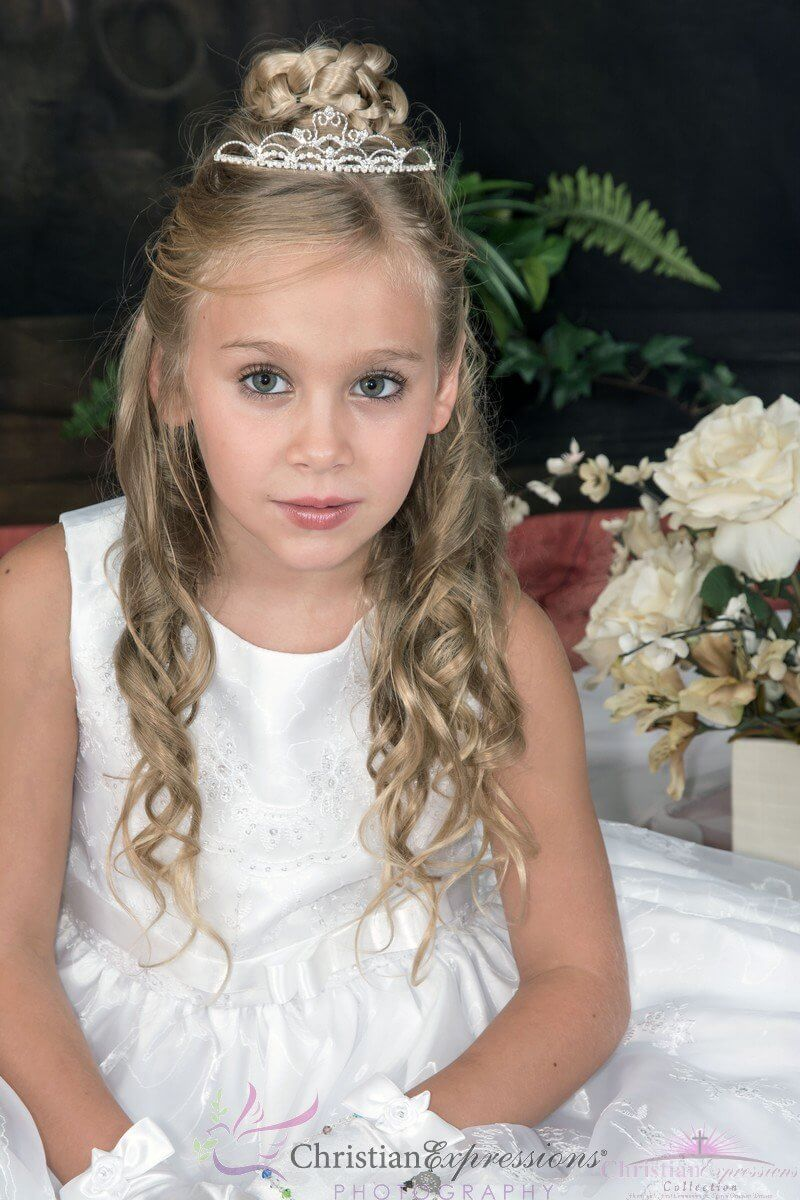 First Communion Tiara Crown Style Taylor