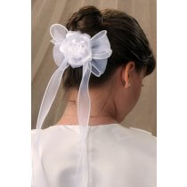 First Communion Comb Hairpiece Style Brianna