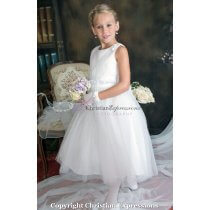 first communion dress with rosettes 17