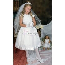 Embroidered Tulle First Communion Dresses 2017 size 12