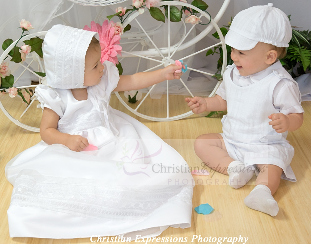 girls christening gowns - boys baptism suits