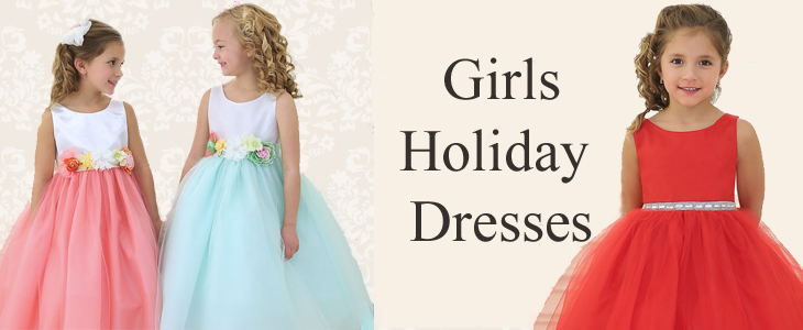 Shop Girls Holiday Dresses for Easter and Christmas