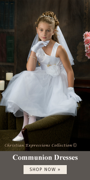 first communion dresses by Christian Expressions